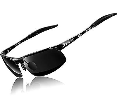 ATTCL Men's Driving Polarized Sunglasses for Men Metal Frame Ultra Light
