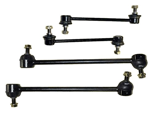 4 pieces kit 2 Front and 2 Rear Stabilizer Sway Bar Links Right and Left Side - Oem Sway Bar