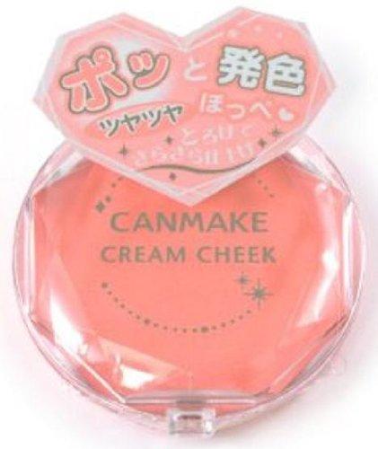 Love Peach (IDA Laboratories CANMAKE | Makeup | Cream Cheek 13 Love)