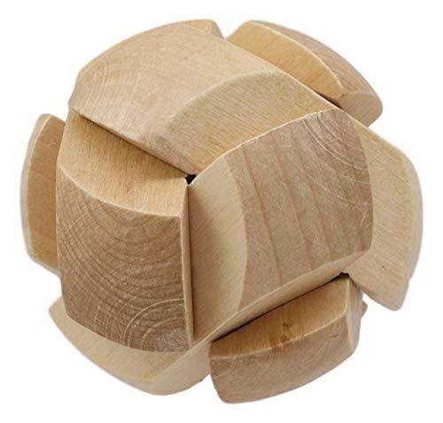 Ebros Frank Lloyd Wright Soccer Ball 3D Block Mini Puzzle 2.75