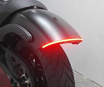 Brake and Turn Signals Kawasaki Vulcan S Fender Eliminator Integrated LED Taillight Kit Smoked Lens