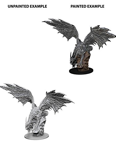 Pathfinder Roleplaying Game Unpainted Miniatures: Silver Dragon
