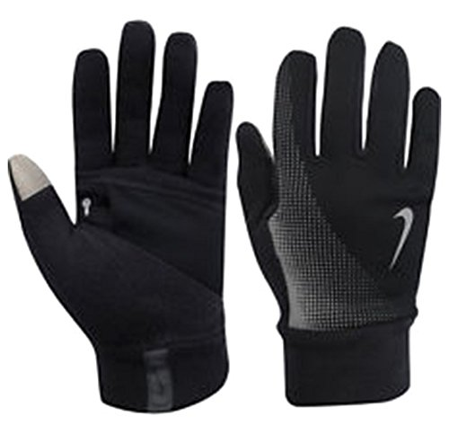 Nike Mens Tech Thermal Running Gloves  Black  X Large