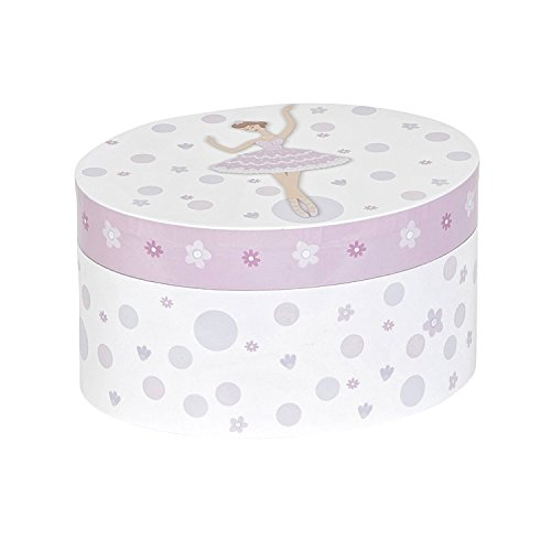 Mele & Co. Zoe Girl's Musical Ballerina Jewelry Box - Flowers By Zoe Girls Skirt