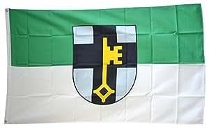 FahnenMax–Bandera de Alemania Ciudad dorsten + Gratis Pegatinas, Flaggenfritze–Bandera, Hissflagge 90 x 150 cm
