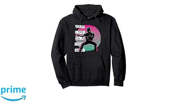 Amazon.com: Vaporwave Pastel Goth Video Game Ninja Hoodie ...