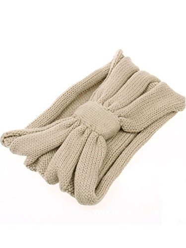 Turban Earwarmer Beige Diadema Crochet Girl Winter Grande Jelinda Woman Diadema Knit gTUzxpwq