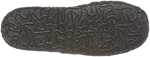 Nanga Klette, Zapatillas de Estar por Casa Unisex Niños Grau (mittelgrau)