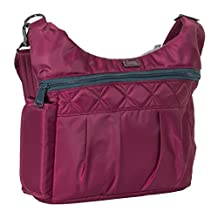 Lug Women's Swing Cross Body Bag, Cranberry Red, One Size