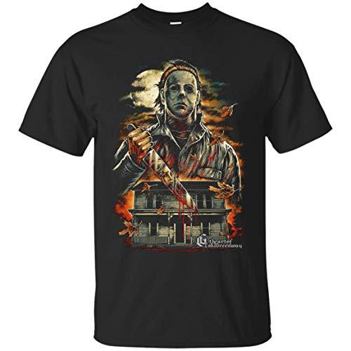 Tee CafeBizz Halloween Michael Myers T-Shirt for $<!--$17.99-->