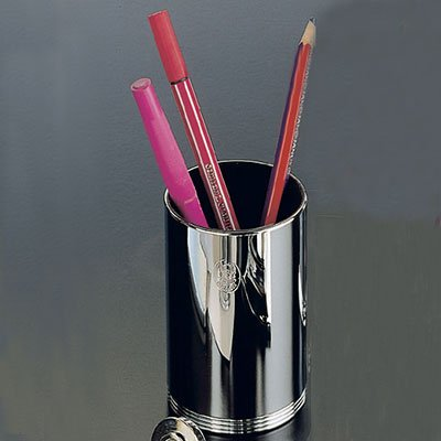 Silver Pencil Cup by El Casco
