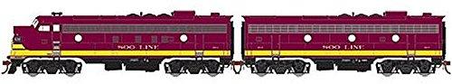 Athearn Genesis - HO FP7A/F7B, SOO/Passenger #500A/B