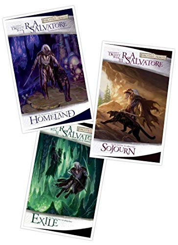 The Legend of Drizzt Boxed Set, Books I-III (Set 1, Bks. 1-3)
