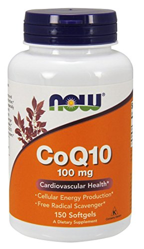 NOW Coq10 100mg 150 Softgels