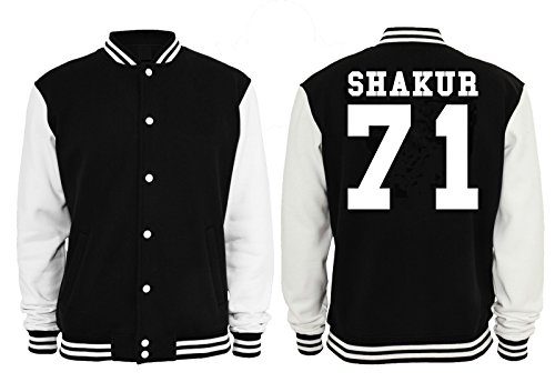 Shakur 71 College Vest Black