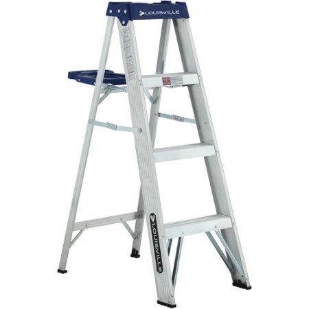 Louisville Ladder 4' Aluminum Ladder