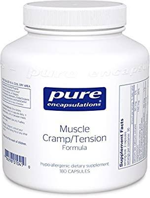 Pure Encapsulations Muscle Cramp/Tension Formula 180 Vcaps