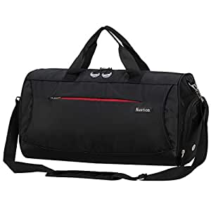 424f1a9cc5a7 Amazon.com  Kuston Sports Gym Bag with Shoes Compartment Travel ...