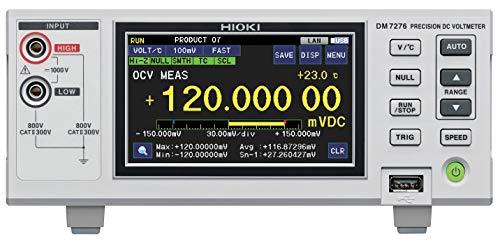 (Hioki DM7276-03 7-1/2 Digit, 9ppm High Precision DC Voltmeter with RS-232C Interface)