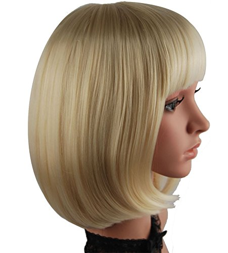 eNilecor Short Straight Cosplay Blonde product image
