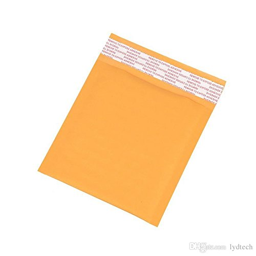 "New (Quantity 50) 4"" X 5"" 4X5 Kraft Bubble Mailers Self-Sealing Padded Mailing Envelopes"