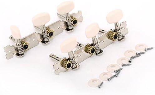 Musiclily 3+3 Clavijas de Afinación Clavijero de Repuesto para ...