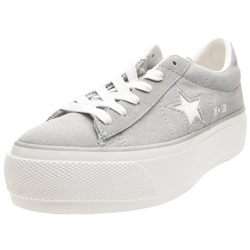Gris Converse One Chaussures Platform Star Femme 8HnqvYXxqR