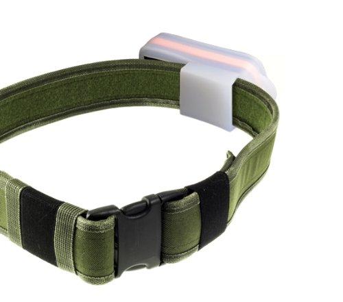 Incutex Gürteltasche / Schutzhülle / Transporttasche / Tasche / Schutz mit Schlaufe, Hülle aus transparentem Gummi für GPS Tracker TK5000