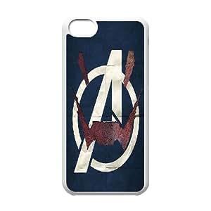LSQDIY(R) avengers iPhone 5C Cover Case, DIY iPhone 5C Case avengers