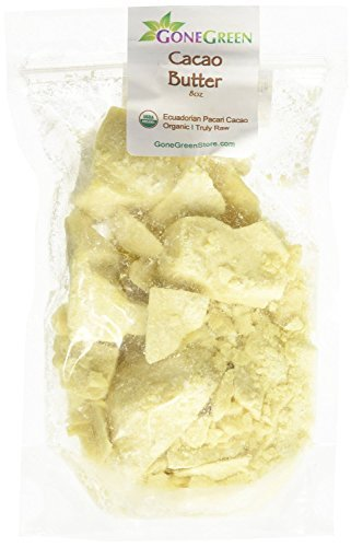 Raw Cocoa Butter 100% Pure 8oz ** SEALED BAG TO ENSURE FRESHNESS** by smellgood(Packaging may vary) ()
