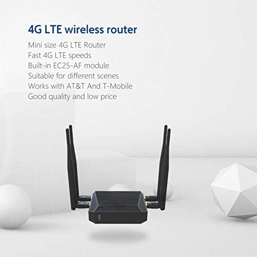 portable 4G LTE router