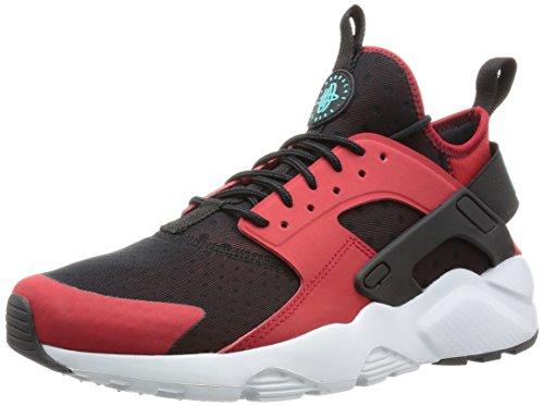 NIKE Herren Huarache Run Ultra Running Sneaker Gym Red / Clear Jade-schwarz-reines Platin