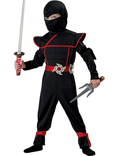 California Costumes Stealth Ninja Toddler Costume, 4-6 ()