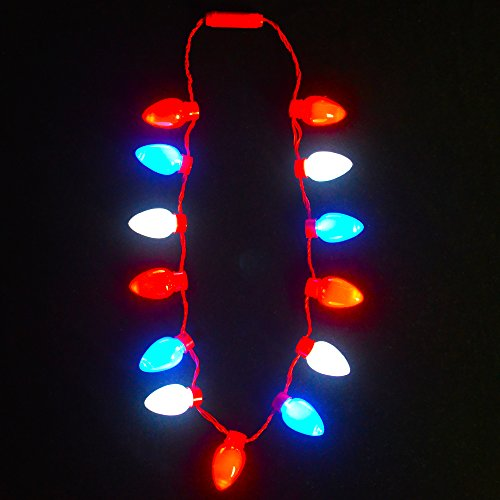 Flashing Led Light Necklace - 8