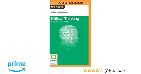 critical thinking bolinda beginner guides