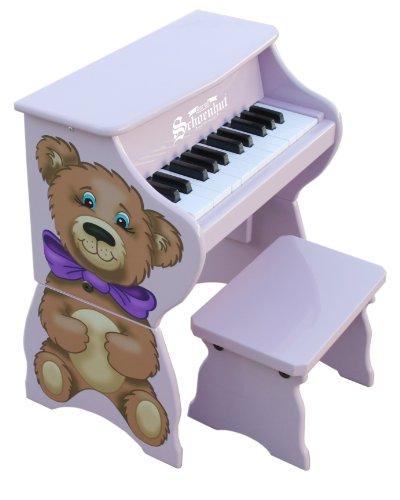 - Schoenhut 9258TB - 25 Key Teddy Bear Piano Pal (Purple)
