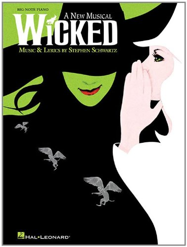 Wicked Piano Book (Wicked (Big-note Piano))