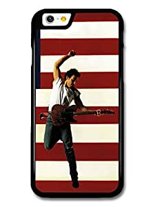 Bruce Springsteen Guitar American Flag case for iPhone 6 A10914 by runtopwell