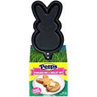 Peeps Easter Bunny Shaped Pancake Mix and Skillet Gift Set, 6 Ounce