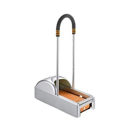 MYY Portátil Dispensador Cubierta Zapatos Automático con Membrana De Calzado Y Palanca De Aleación De Aluminio