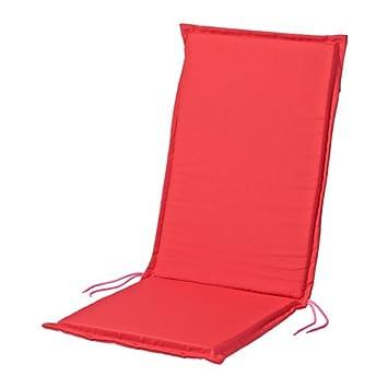 Ikea acolchado nästön para sillas de jardín Asiento y respaldo acolchado 2 colores, rojo