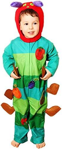 Oruga hambrienta - disfraz infantil: Amazon.es: Juguetes y juegos