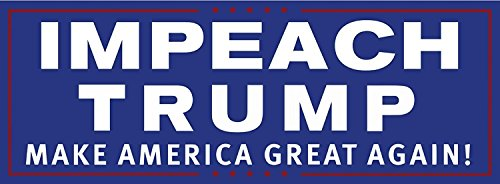 Drumpf.WTF Impeach Trump Make America Great Again Magnetic Anti-Trump, Pro-Democracy Bumper Sticker