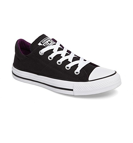 Madison Sneaker Winter Converse Top Women's Black Leather Purple Low R5TqqPn7Bw