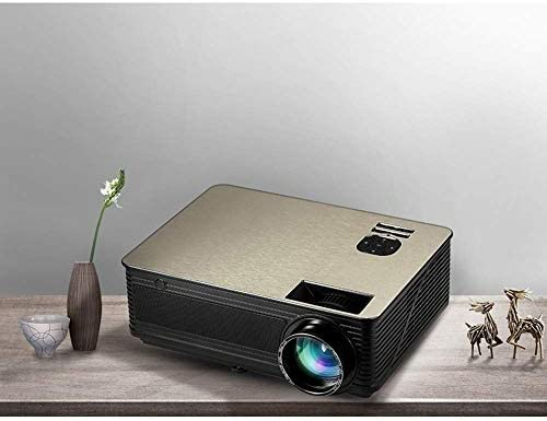 Inteligente HD proyector casero, WIFI Bluetooth inalámbrica en la pantalla del proyector, la resolución es 1920X1080, ayuda 1080P, bulbo de brillo es de 10.500 lúmenes, la ayuda del formato 3D ZHNGHEN: Amazon.es: