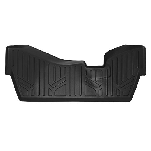 MAX LINER C0158 Custom Fit Floor Mats 3rd Liner Black for 2014-2019 Acura MDX with 2nd Row Bench Seat