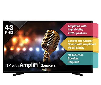Vu 109 cm (43) 43S6575 Rev Pl. LED TV FHD Full HD Television