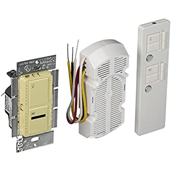 Amazon Com Lutron Maestro Ir Fan Control And Light Dimmer