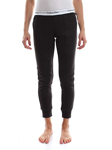Jogger Bottom Pant Pantalón Mujer Calvin Klein 000qs5716e Negro w1IqEPU