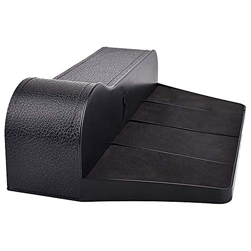 Huahua Car Seat Gap Storage Box,Car Console Side Pocket,Leather Storage Multifunction Slot Box,For Mobile Phones, Keys, Cards, Wallets, Coins